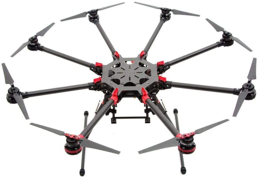 Octocóptero o de ocho brazos, Drone mas potente del mercado