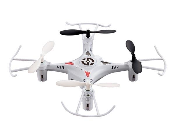 Modelo de drone cuadricoptero