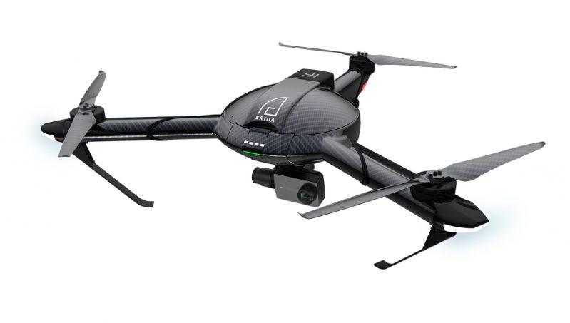 Modelo de Drone Tricoptero